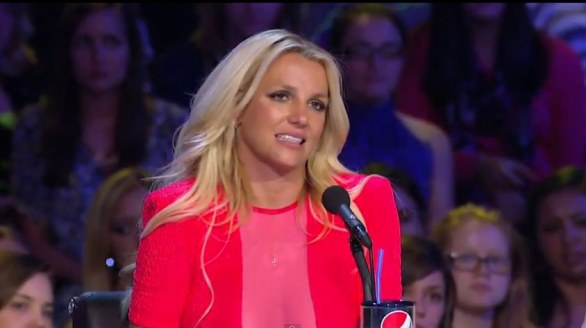 Britney Spears a X Factor 2012
