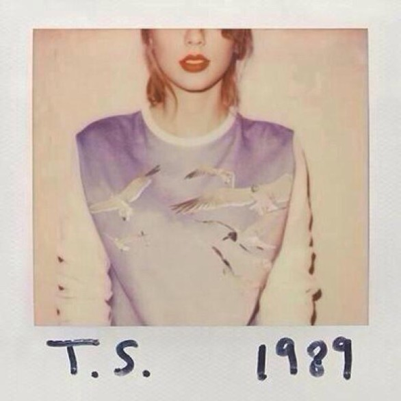 cover of 1989 taylor swift