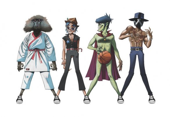 "Gorillaz, James Murphy e Andre 3000: ""Do Ya Thing"" è il singolo per la Converse"
