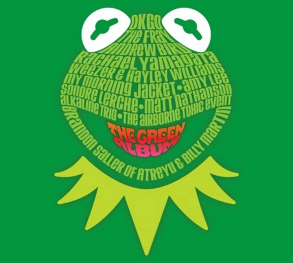 The Green Album colonna sonora del nuovo film dei Muppets