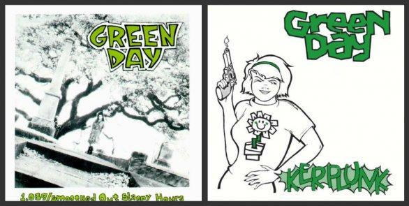 "Green Day: nuove edizioni per ""39/Smooth"" e ""Kerplunk"""