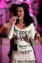 Katy Perry in concerto a Las Vegas pro Obama
