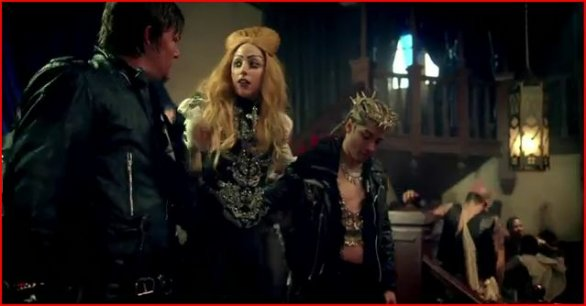 lady gaga video pop judas