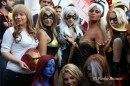 Marvel ladies Lucca Cosplay 2013 - foto di Paolo Bianco