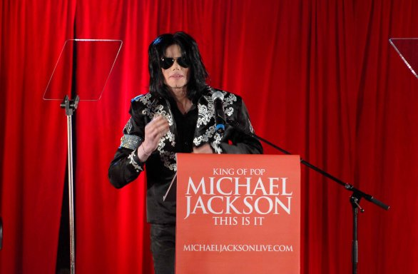 michael jackson ologramma in tour