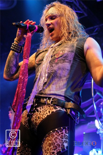 Michael Starr Steel Panther foto @ Alcatraz Milano, 31 Marzo 2015 - photos by Paolo Bianco