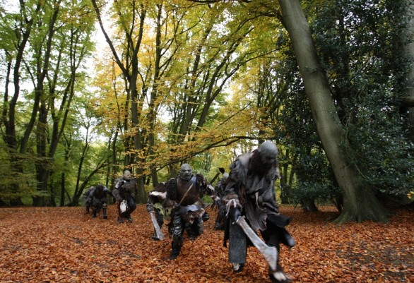 Orcs Invade Epping Forest On Location of 'Born of Hope'