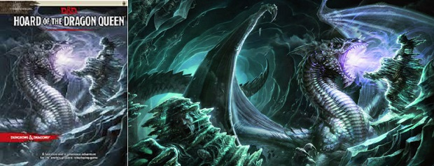 Dungeons and Dragons RPG - Tyranny of Dragons: Hoard of the Dragon Queen