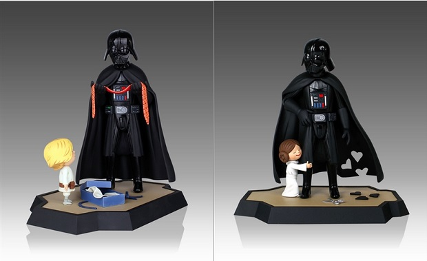 Vader's Little Princess and Son Maquettes