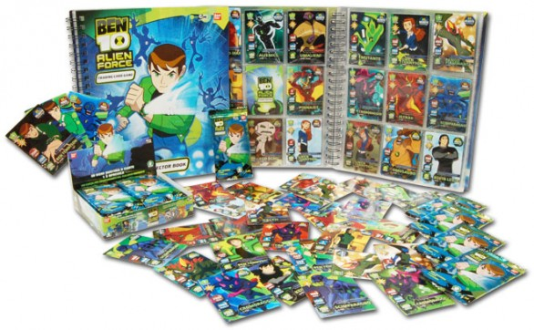 Ben10 Alien Force Trading Card Game
