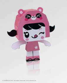 Charuca paper toys