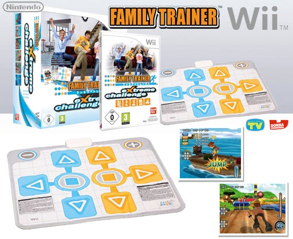 Family Trainer Extreme Challenge per Wii