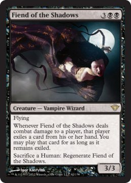 Fiend of the Shadow Magic The Gathering