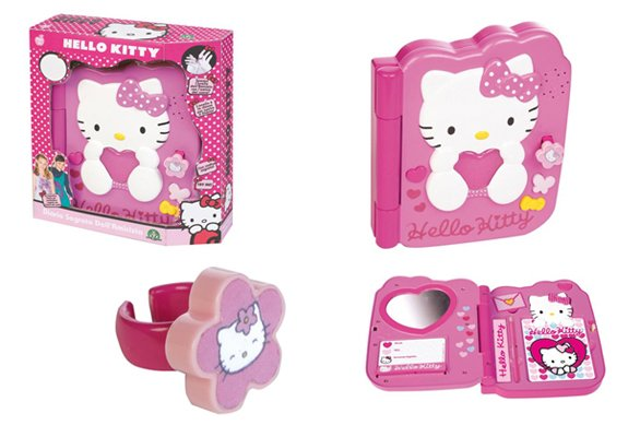 Hello Kitty Diario Segreto dell'amicizia