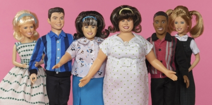 hairspray bambole del musical e film - tracy e edna -