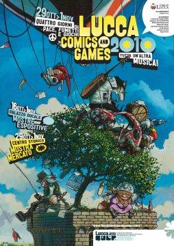 Poster Lucca Comics and Games