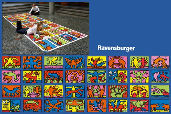 Puzzle Keith Haring 32000