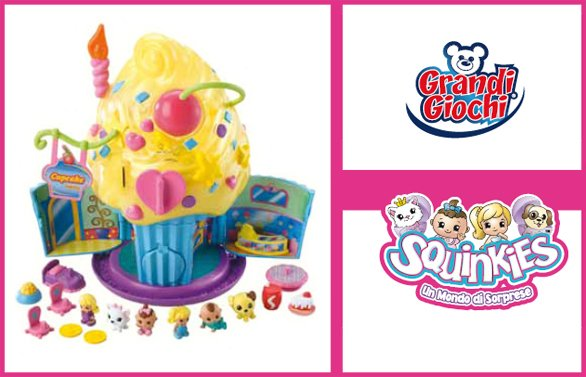 Squinkies playset