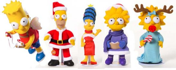 The Simpsons Natale