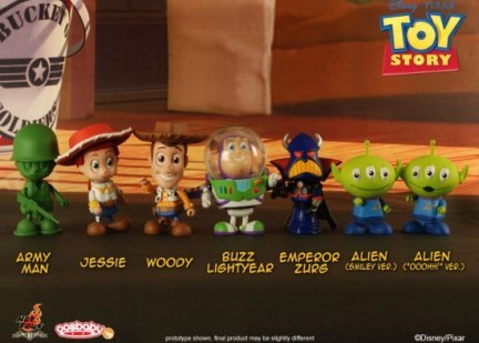 Toy story 3 cosbabies