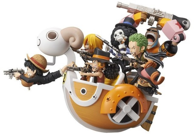 One Piece Mini Merry on Attack
