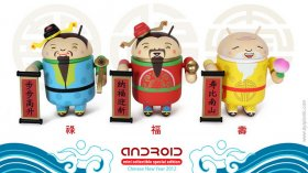 Android Mini Collectibles di Andrew Bell