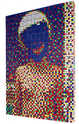 rubik cubism by space invaders