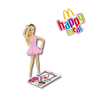 Barbie e Hot Wheels con gli Happy Meal di McDonald's