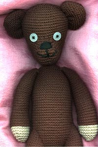 Free Knitting Pattern For Mr Bean s Teddy Bear : Realizzate il Teddy Bear di Mr. Bean