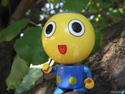 Servbot Bubble Budd: adorabile ed economico mini bobble head
