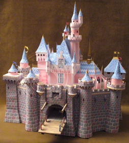 how to make a princess castle out of cardboard