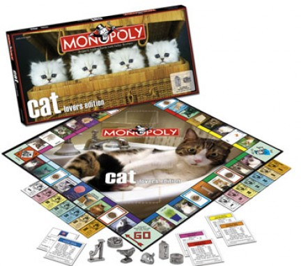 monopoly cat lover's edition