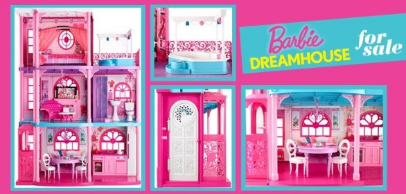 Barbie vende casa for Casa di malibu di barbie