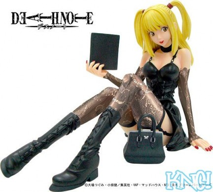 death note misa action figure pvc