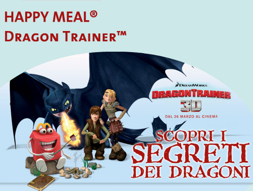 dragon trainer happy meal