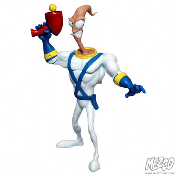 Earthworm Jim: l'action figure