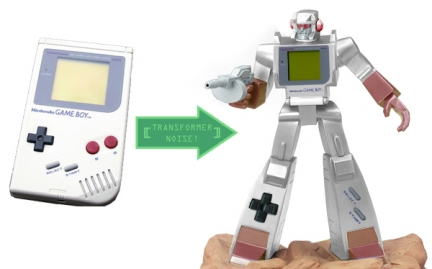 transformers photoshop game boy