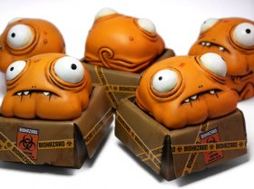 Glop in a box: il resin toy di Andrew Bell