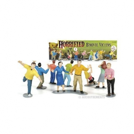 horrified b-movies victims action figure