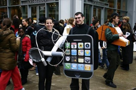 I costumi da iPhone