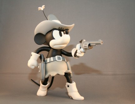 mickey mouse vinyl collectible doll