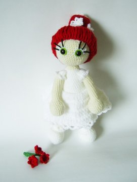 Amigurumi: doll crochet by KooKooCraft