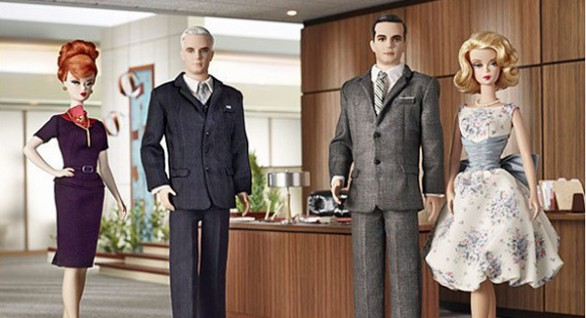 Mad Men: le Barbie di Don Draper e degli altri personaggi del telefilm