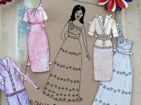 Michelle Obama: giocate con le paper doll