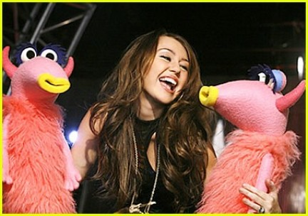 miley cyrus muppet