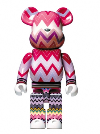 bearbrick cancer blood foundation missoni