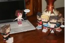 One Direction: i paper toys di Harry, Liam, Zayn, Louis e Niall