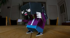 Praypaint: assemblate il papertoy