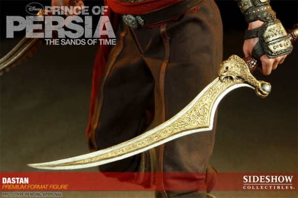 Prince of Persia: l'action figure di Jake Gyllenhaal da Hot Toys