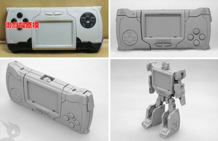 playstation portable transformers console videogame